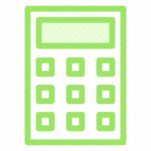 calculation, calculator, finance, office, study icon