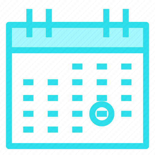 calendar, date, event, time icon