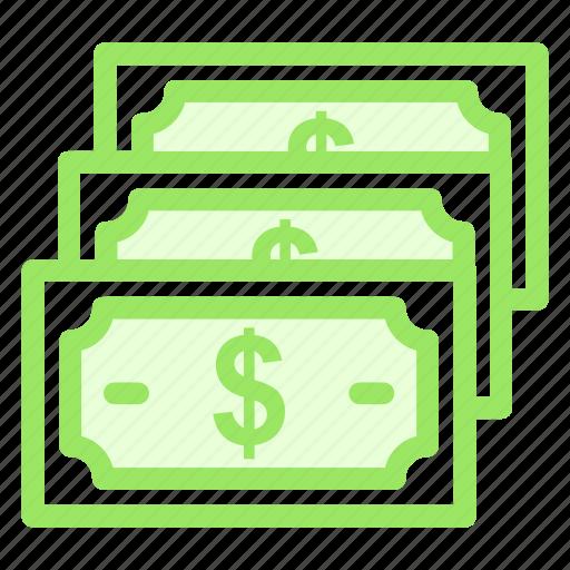 cash, currency, dollar, moneyicon icon