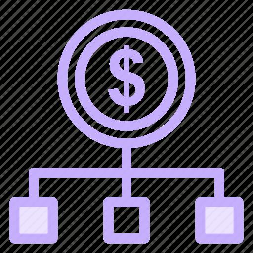 cashflow, cashout, chart, diagram, schemeicon icon