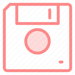 disk, floppy, save, storageicon icon