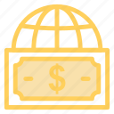 currency, finance, globalmoneyexchange icon