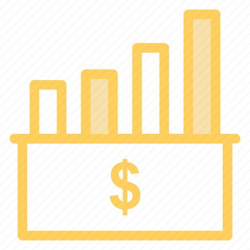 business, finance, graph, managmenticon icon