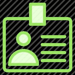 business, card, finance, id, identitycardicon icon