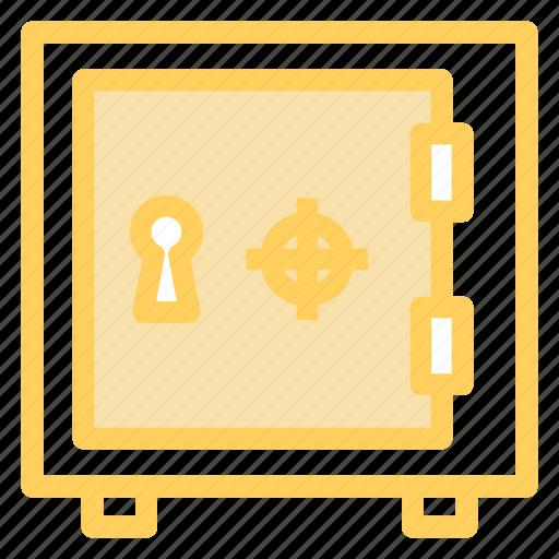 deposit, safe, savings, secure icon