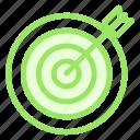dart, goal, shooting, targeticon icon