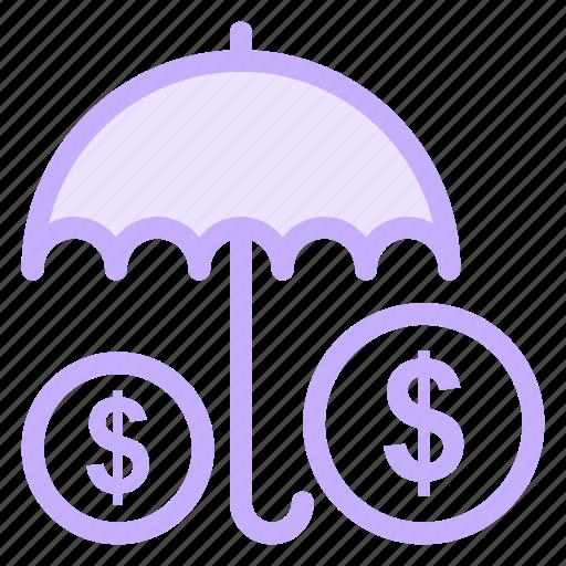 insurance, protection, security, umbrella, weathericon icon