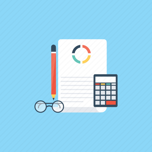 accounting, audit, banking, calculation, finance icon