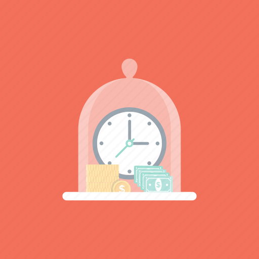 budgeting, estimating, financial planning, management, save time money icon