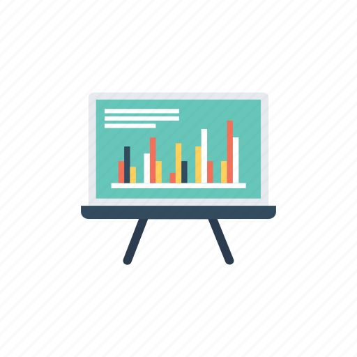 analysis, analytics, market reporting, market research, presentation, statistics icon