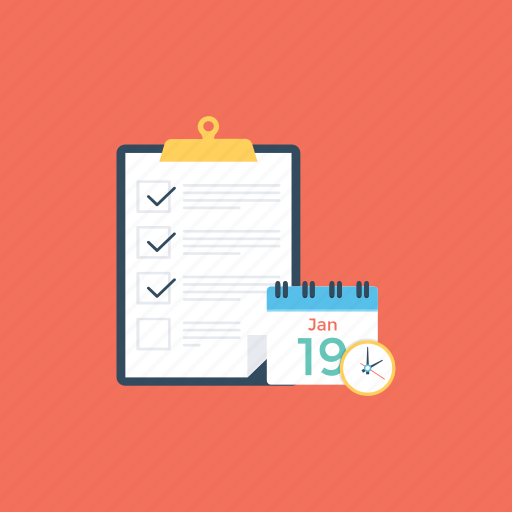 business agenda, business events management, business management, business plan, business strategy icon