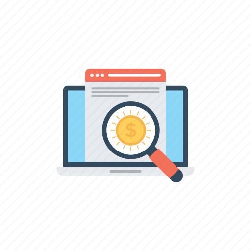 market research, marketing, search engine optimization, seo, web optimization icon