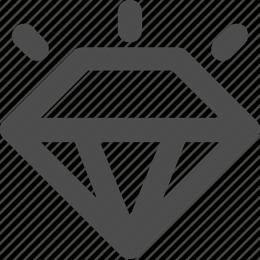 brilliant, diamond, jewel, value icon