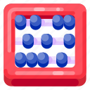 abacus, bank, business, commercial, economy, finance icon