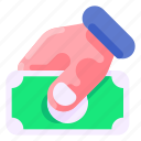 bank, business, commercial, donate, economy, finance, money icon
