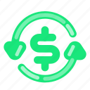 bank, business, commercial, dollar, economy, exchange, finance icon