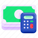 bank, business, calculator, commercial, economy, finance, money icon