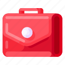 bag, bank, business, commercial, economy, finance, office icon
