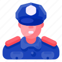 bank, business, commercial, economy, finance, police, security icon