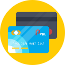 atm, card, debit, visa icon