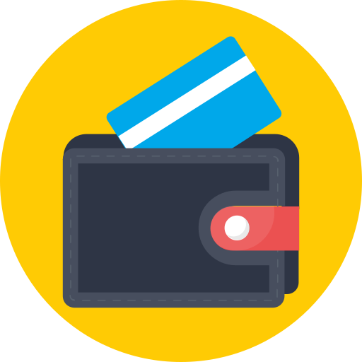 atm, card, debit, visa, wallet icon