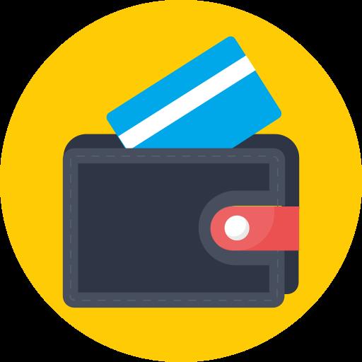 atm, card, debit, visa, wallet icon