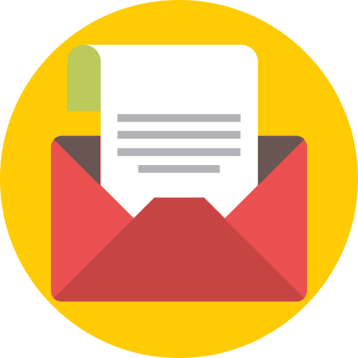 Email, envelope, letter, mail, open icon - Free download