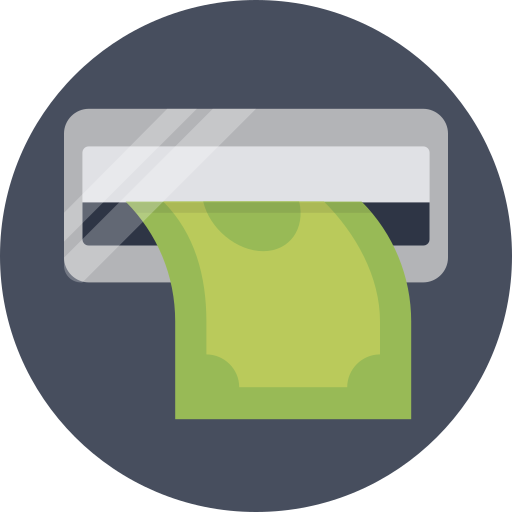 atm, cash, withdrawal icon