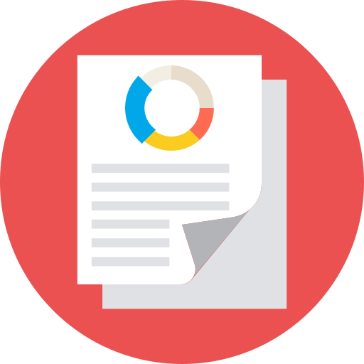document, paper, report, sheets icon
