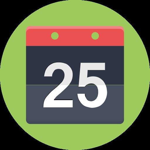 calandar, date, event, schedule icon