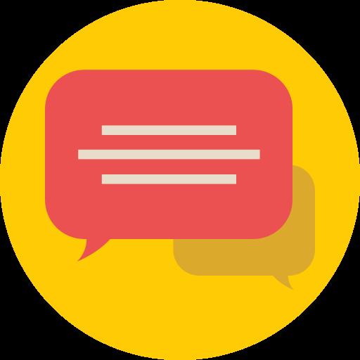 bubble chat, chat, comments icon