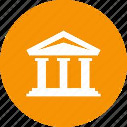 bank, deposit, investment, loan, savings, stock icon