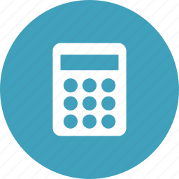 accounting, add, calculator, math, mathematics icon