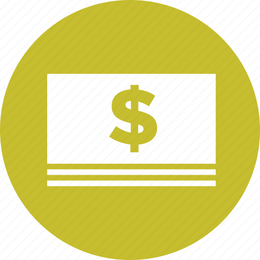 Bill, cash, currency, dollars, finance, money icon - Download on Iconfinder