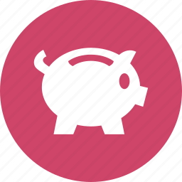 bank, investment, money, piggy, savings icon