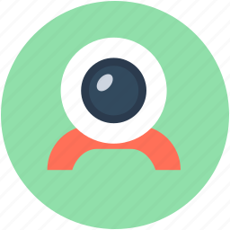 cam, camera, computer cam, live camera, webcam icon