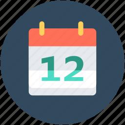 calendar, date, schedule, timeframe, wall calendar icon