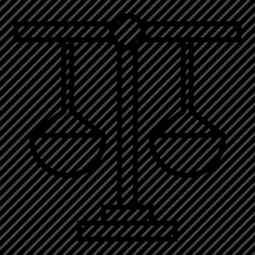 balance, court, finance, justice, law, libra icon