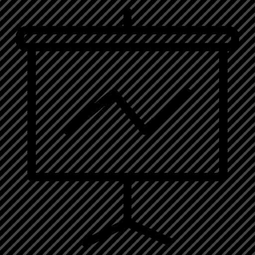 analytics, dashboard, presentation, report, sales, statistics icon