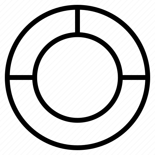 chart, help, pie graph, statistics, support icon
