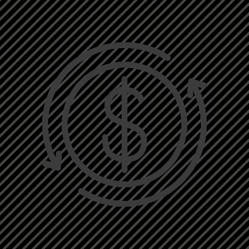 finance, investment, money icon