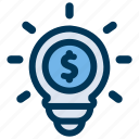 budget, investment, plan icon