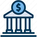 bank, deposit, savings icon