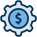 finance, money, settings