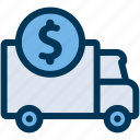delivery, price, shipping icon