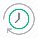 clock, clockwise, reload, schedule, time icon