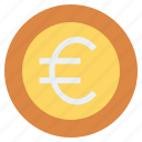 cash, coin, currency, euro, finance, money, price icon