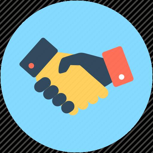 business partner, businessmen, deal, partnership, shake hand icon