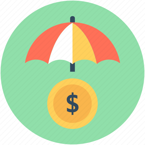 banking, insurance, parasol, protection, umbrella icon