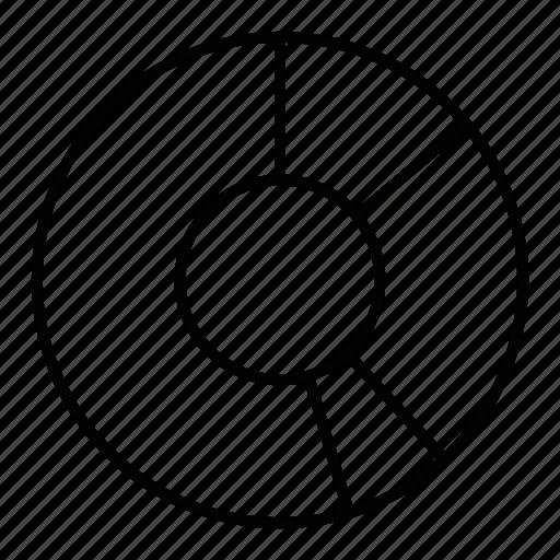 analysis, measure, report, statics icon